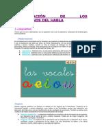 Clasificación de Los Trastornos Del Habla.doc