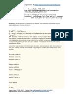 MCSL 025  Lab Course(MCS-021,022,023,024)