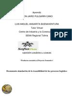 """""""Documento simulación de la trazabilidad de los procesos logístico"""".docx"""