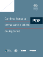 OIT y Trabajo Informal en Argentina
