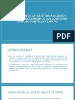 Verificacion de La Resistencia a Corte y Flexion