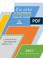 Guía de estudio 28 creencias Adventistas del Séptimo Día