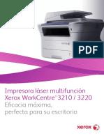Brochure Xerox 3220