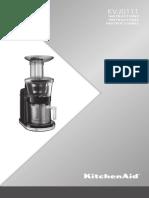 KitchenAid KVJ0111CU Juicer