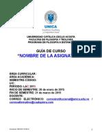 Formato Guía de Curso Lac 2015