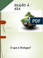Introdução à Biologia 1
