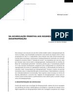 DA ACUMULAÇÃO PRIMITIVA AOS REGIMES DE expropiação.pdf
