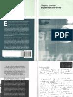 Bateson Gregory Espiritu y Naturaleza PDF (1)