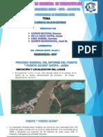 Informe de Obras Visitadas en Huancayo - Satipo - Junin de la Universidad Nacional de Huancavelica (Ingenieria Civil - Lircay)