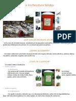 La Reutilización de Los Residuos Sólidos