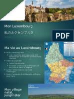 Présentation Multilinguisme Luxembourg