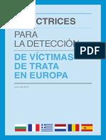 Manual Directrice detección trata de personas