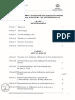Reglamento UCAS2011