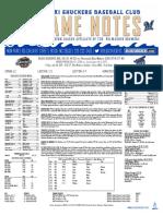 7.28.17 at PNS Game Notes