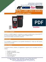 Especificaciones Tecnicas Distanciometro Leica DISTO D2 100m