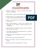 Aniversario 67 de Nuestra Querida Instituciòn