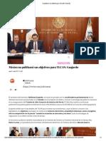 27 -07-17no publicará sus objetivos para TLCAN_ Guajardo