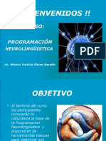 POGRAMACION NEUROLINGUISTICA