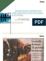 Exposición de sistemas de protección eléctrica en B.T.