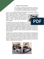 Mobiliario y Equipo de Oficina
