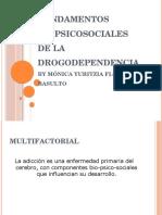 FUNDAMENTOS BIOPSICOSOCIALES DE LA DROGODEPENDENCIA