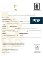 Formato de Inscripción Encuentro Académico