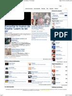 Letras de Canciones, Caratulas, Videoclips, Noticias de Música - Coveralia
