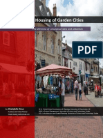 The Social Housing of Garden Cities; The Dilemma of Conceptual Idea and Urbanism