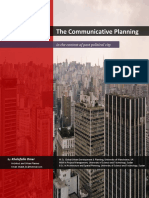 The Communicative Planning in the Context of Post Political City