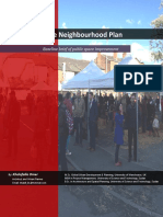 Levenshulme Neighbourhood Plan; Baseline Brief of Public Space Improvement