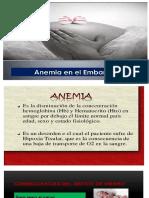 Anemia en El Embarazo