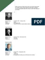 Daftar Nama Sekjen PBB