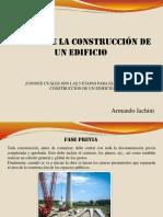 Etapas para la construcción de un edificio