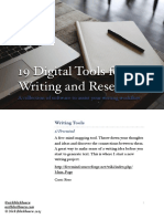 19 Digital Tools for Writing and Research