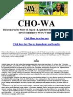 Cho Wa Story