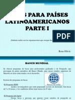 Becas Para Países Latinoamericanos, Parte I