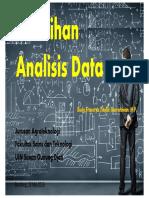 Pelatihan Analisis Data Penelitian Agroteknologi