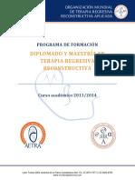 Programa de Formacin Diplomado y Maestra en Psicoterapia Regresiva Reconstructiva 2