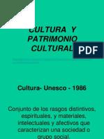Cultura Patrimonio Cultural