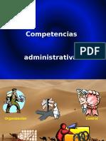 Copia de Competencias Administrativas