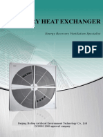 Catalogue of Rotary Heat Exchanger