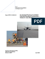 IPRF Accel Guide Vol II Case Studies - Accelerated Practices for Airfield Concrete Pavement Construction