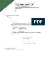 Surat Studi Banding SMK N 2 DPS