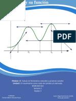Actividad Integradora 1 La derivada y su función M18S2