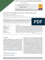 Aguirre Determinants of Renewable Energy Growth