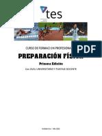"Curso de Formaciã""n Profesional en Preparaciã""n Fisica"