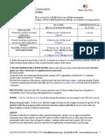 Kalmatron KF-A Application Instructions