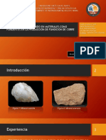 Uso de Cuarzo Contenidos en Materiales Como Fundentes