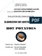 Formation Hot Potatoes