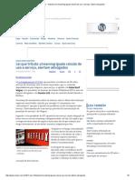 Imposto Em Streaming Iguala Cessão de Uso a Serviço, Dizem Advogados